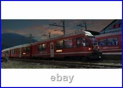 LGB 22225 Ferroviaire Allegra Échelle 2m