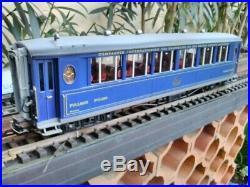 LGB voiture PULLMAN bleue 1ere 31655