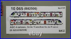 LS MODELS 10065 AGC SNCF (Île De France) ép V-VI 1/87e / =DC