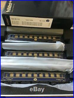 LS MODELS 49121 échelle HO 1/87 Set de 3 voitures CIWL 1937 CL1 CL2 ép II- III