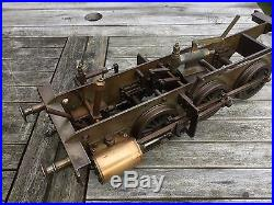 Live steam locomotive chassis 3.5 inche gauge