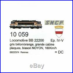 Loco BB22374 Rennes Ep IV NOYON SNCF digital son-HO 1/87-LSMODELS 10059S