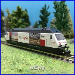 Loco Re 460 TGV Lyria Ep V SBB-N 1/160-Kato 137120