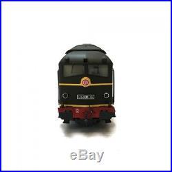 Locomotive 060 DA 16 SNCF-HO 1/87-ELECTROTREN 2800D DEP58-046