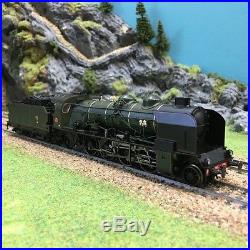 Locomotive 141 E 388 Clermont Sncf époque III -HO-1/87-REE MB-051