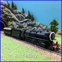 Locomotive 150 X avec voiture sonore Mfx-HO-1/87-MARKLIN 37887 DEP39-52