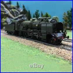 Locomotive 231 D52 PLM ép II SNCF-HO-1/87-REE MB-032