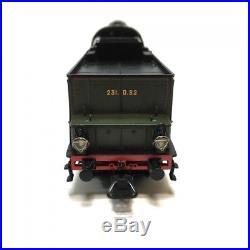 Locomotive 231 D52 PLM ép II SNCF digitale son-HO-1/87-REE MB-032S