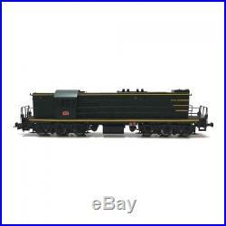 Locomotive A1A 62000 040 DA 15 YAYA La Plaine ép III SNCF-HO-1/87-MABAR 82037