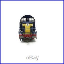 Locomotive BB66028 Bleu Roi Toulouse SNCF Ep IV-HO-1/87-PIKO 96211