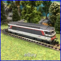 Locomotive BB67400 ép V Multi-services SNCF-N 1/160-MINITRIX 16704