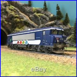 Locomotive BB7604 Transilien Ep VI SNCF digitale sonorisées-HO 1/87-LSMODELS 104