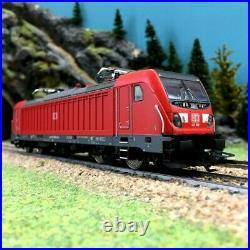 Locomotive BR147 Ep VI DB AG digital son-HO 1/87-TRIX 22689