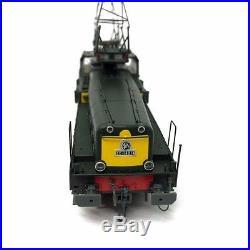 Locomotive CC14014 livrée verte front jaune Sncf ép III-HO-1/87-JOUEF HJ2334