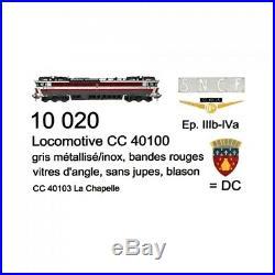 Locomotive CC40103 La Chapelle ép III IV SNCF Blason-HO 1/87-LSMODELS 10020