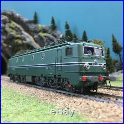Locomotive CC7124 Chambéry Maurienne ép IV SNCF digital son-HO 1/87-REE MB107S