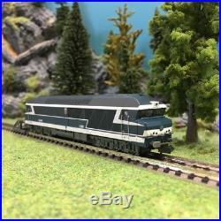 Locomotive CC72031 Blason ép V SNCF digital son-N 1/160-ARNOLD HN2384S DEP90-020