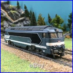 Locomotive CC 68000 A1A A1A ép IV Sncf -HO-1/87-ROCO 73700