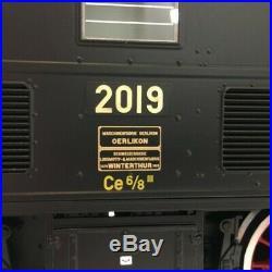 Locomotive Crocodile Anniversaire 100 ans Ce 6/8 III SBB-1 1/32-MARKLIN 55686