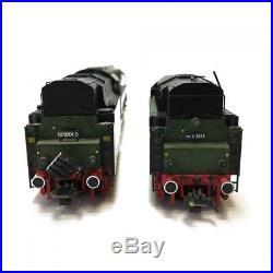 Locomotive DR02 avec 2 tender 3R digitale son-HO-1/87-ROCO 69198 DEP17-1060