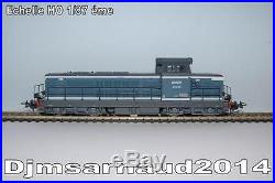 Locomotive Diesel BB 66049 Livrée Bleu Diesel Logo Nouille creux SNCF PIKO 96116