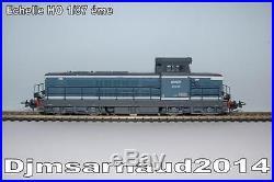 Locomotive Diesel BB 66049 Livrée Bleu Logo Nouille creux SNCF PIKO 96116D