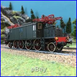 Locomotive E432 FS-HO 1/87-RIVAROSSI HR2197 DEP103-124