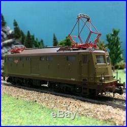 Locomotive E 424 010 Breda ép V FS digitale-HO-1/87-RIVAROSSI HR2727D