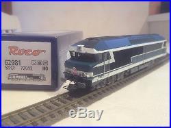 Locomotive ROCO DCC SOUND CC72012 REF 62981