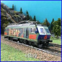 Locomotive Re 446 digital 3R-HO 1/87-MARKLIN 37302 DEP236-044