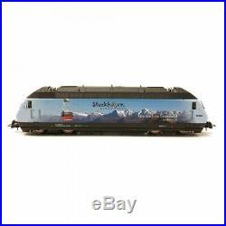 Locomotive Re 465 016-4 Stockholm BLS Ep VI digital son-HO 1/87-ROCO 73269