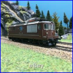 Locomotive Re 4/4 174 BLS Ep V digitale son-HO 1/87-ROCO 73819