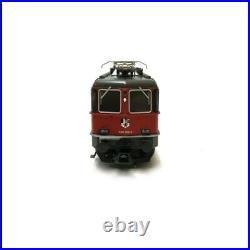 Locomotive Re 4/4 II SBB LGB digital son-HO 1/87-TRIX 22843