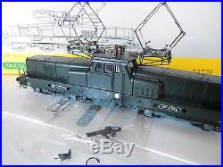Locomotive Trix Bb 12068 Verte Ho Livrer En Boite Et Notice