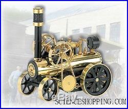 Locomotive à Vapeur noir/laiton D430