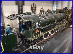 Locomotive à vapeur 120 cm 231E41 train HO Z N l'échelle 1/32éme