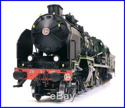 Locomotive à vapeur 231 G 558 Occre échelle 1