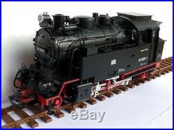 Locomotive à vapeur radiocommandée échelle G 131 BR 99 6001 de la DR