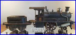 Locomotive à vapeur vive GBN Bing. 110 1/48 avec tender. 1900. Voie 1