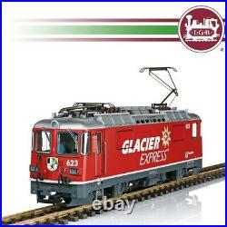 Locomotive classe Ge 4/4 II Glacier Express Ep VI digital son-G 1/22.5-LGB 284