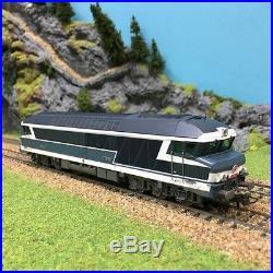 Locomotive diesel CC72009 Sncf epIV analogique-HO-1/87-ROCO 72986