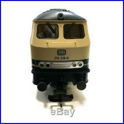Locomotive diesel G 218 DB Ep IV train de jardin-G-1/22.5-PIKO 37509