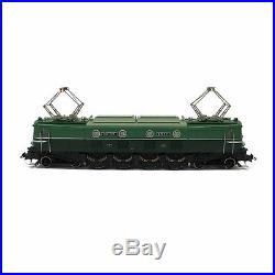Locomotive electrique 2D2 bicolore 9110 Sncf epIII analogique-HO-1/87-ROCO 73483