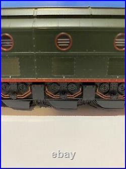 Locomotive électrique jouef 2D2 5401 Vert Foncee Phare Central EP III HJ 2367