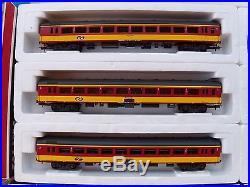 Locomotive électrique série 11 1186 SNCB + rame de 6 voitures NS Lima échelle HO
