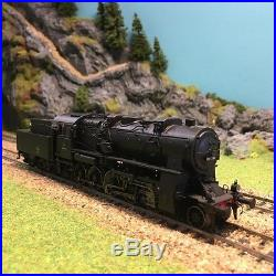 Locomotive vapeur 150C661 Sncf ép III digitale sonorisée-HO-1/87-JOUEF HJ2298