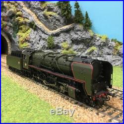 Locomotive vapeur 150x35 dépot Thionville Sncf ép III -HO-1/87-ROCO 62148
