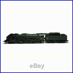 Locomotive vapeur 241 P 6 Mistral dépot Marseille Sncf ép III-HO-1/87-JOUEF HJ22