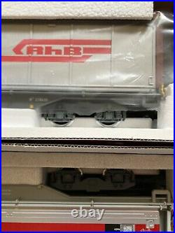 Lot De 2 Wagons Marchandises LGB Rhb 41570 48570 Spur G