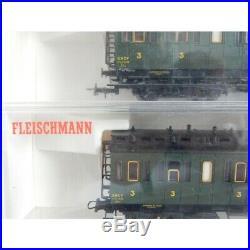 Lot Voiture Fourgon Fleischmann Ho 5089 5087 5086 5085 5084 F Boite Cristal